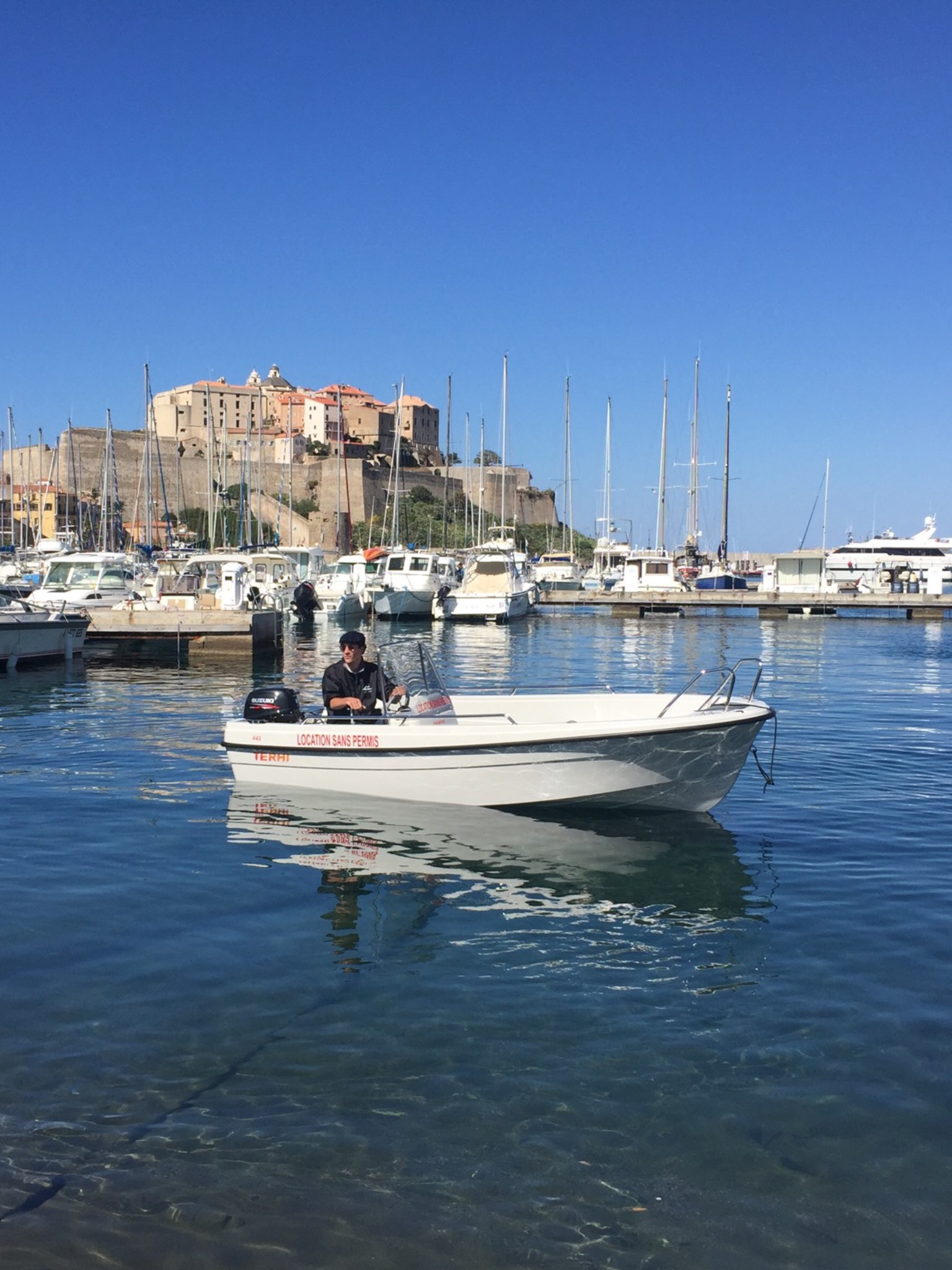 d u00e9part de calvi - theri 445 6cv